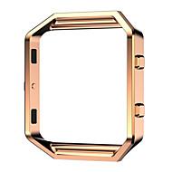 billiga Smart klocka Tillbehör-Klockarmband för Fitbit Blaze Fitbit Klassiskt spänne Metall Rostfritt stål Handledsrem