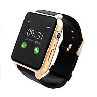 tanie Inteligentne zegarki-Inteligentny zegarek Ekran dotykowy Pulsometr Wodoszczelny Krokomierze Kamera/aparat Anti-lost Dźwięk Odbieranie bez użycia rąk Obsługa