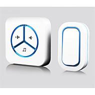 防水 調整可能なサウンド ワイヤレス ドアベルシステム