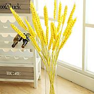 1pc 1 Branch Styropor / Plastikk Planter Gulvblomst Kunstige blomster 29.9inch/76CM