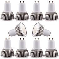 billige Spotlys med LED-4W GU10 GU5.3(MR16) E26/E27 LED-spotpærer MR16 16 SMD 5730 350-400 lm Varm hvit Kjølig hvit Mulighet for demping Dekorativ AC 110-130 DC