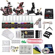 Profissional de tatuagem kit top 3 máquinas de 10 tintas de cores