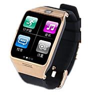 tanie Inteligentne zegarki-Inteligentny zegarek na Android Spalone kalorie / Odbieranie bez użycia rąk / Ekran dotykowy / Wideo / Kamera / aparat Powiadamianie o połączeniu telefonicznym / Rejestrator aktywności fizycznej
