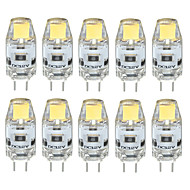 baratos Luzes LED de Dois Pinos-3 W 300-350 lm G4 Luminárias de LED  Duplo-Pin T 1 Contas LED COB Impermeável / Decorativa Branco Quente / Branco Frio / Branco Natural 12 V / 10 pçs / RoHs / CE