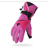 女性用 フルフィンガー 保温 防風 耐摩耗性 スポーツグローブ 綿繊維 スキー手袋 スキー サイクリング/バイク キャンピング&ハイキング モーターバイク 冬