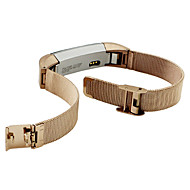 cheap Smartwatch Accessories-Watch Band for Fitbit Alta Fitbit Milanese Loop Metal / Stainless Steel Wrist Strap