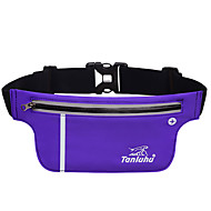 L Waist Bag/Waistpack Cell Phone Bag Belt Pouch/Belt Bag for Cycling/Bike Running Sports Bag Multifunctional Phone/Iphone Close Body