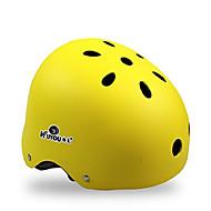 KUYOU スケートヘルメット 成人 ヘルメット CE Certification スポーツ 青少年 のために サイクリング スケートボード インラインスケート ブラック オレンジ イエロー ブルー ピンク