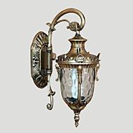billige Krystall Vegglys-Traditionel / Klassisk Vegglamper Metall Vegglampe 110-120V / 220-240V 40 W / E26 / E27