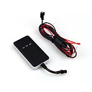 TR02 voertuig gps tracker realtime volgen beweging alarm gratis platform