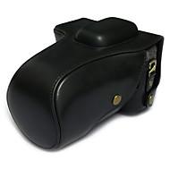 Bolsa-Preto / Café / Marrom-Á Prova-de-Pó-Um Ombro-Canon-SLR