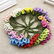 billige Kunstig Blomst-Kunstige blomster 1 Afdeling Brudebuketter Calla-lilje Bordblomst