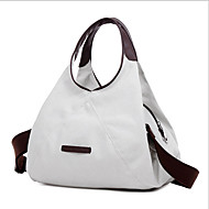 Women Bags Canvas Shoulder Bag Tote for Casual Outdoor Beige Gray Brown Blue