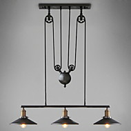 UMEI™ LED Pendant Lights Vintage 3 Lights ST64 Bulbs Included Up and Down system for Living Room / Bedroom
