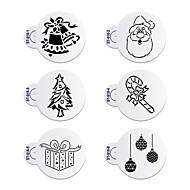 6 Baking Miljøvennlig / Ny Ankomst / Kake Deco / Høy Kvalitet Kake / Kjeks Plastikk Bakeformer