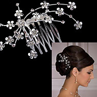 billiga Brudhuvudbonader-Legering Hair Combs med 1 Bröllop / Speciellt Tillfälle Hårbonad