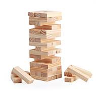 Igre na ploči Igre slaganja Tornjevi za slaganje Drvena kocka Kvadrat Mini drven Božić Kamado roštilj Dječji dan Djevojčice Dječaci Poklon