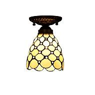 billige Taklamper-Tiffany Takplafond Til Stue Soverom Kjøkken Barnerom Inngang Entré Garage AC 220-240V Pære ikke Inkludert