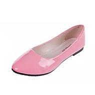 hesapli -Kadın's Ayakkabı PU Yaz Rahat Düz Ayakkabılar Düz Taban Günlük için Mor Sarı Kırmzı Mavi Pembe