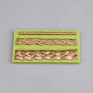 billige Bakeredskap-Bakeware verktøy silica Gel / Silikon Økovennlig / Non-Stick / Håndtak Kake / Til Småkake / For Småkake Pastry Tool 1pc