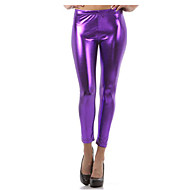 Women's Basic Legging Solid Colored Mid Waist