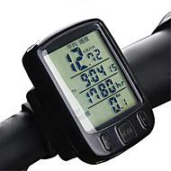 billige Sykkelcomputere og -elektronikk-A234 Sykkelcomputer bakgrunnsbelysning Temperaturmåleinstrumenter Antiskl Kilometerteller Av - Gjennomsnittlig Hastighet Dst - Tur Avstand