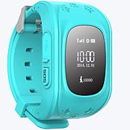 tanie Inteligentne zegarki-Zegarki dziecięce na iOS / Android Odbieranie bez użycia rąk / Wodoszczelny / Dźwięk / Obsługa wiadomości Czasomierz / Stoper / Rejestrator aktywności fizycznej / Znajdź moje urządzenie / Budzik