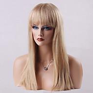 mooie capless pruiken van hoge kwaliteit op lange rechte menselijk haar 24 inch