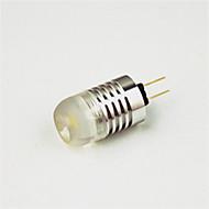 billige Globepærer med LED-1W 200lm G4 LED-globepærer T 1 LED perler Høyeffekts-LED Dekorativ Varm hvit Kjølig hvit 12V 220-240V