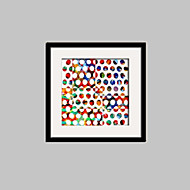 Soyut / Fantezi Çerçeveli Tuval / Çerçeve Seti Duvar Sanatı,PVC Siyah Keçe Dahil Frame ile Duvar Sanatı
