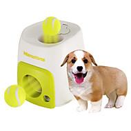 犬用おもちゃ ペット用おもちゃ ボール型 インタラクティブ おやつボール テニスボール プラスチック