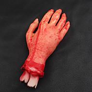 assustador quebrado horror dedo sangue mão halloween decoração cortada sangrenta simular mão novidade mortos dispositivos mão quebrada