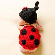 Kape i šeširi Djevojčice Dječaci - Sva doba Pamuk Roman Knit Trake za kosu - Crvena