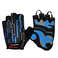スポーツグローブ サイクルグローブ 速乾性 透湿性 高通気性 耐摩耗性 耐衝撃性の 保護 フィンガーレス シリコーン 登山 レジャースポーツ サイクリング / バイク ランニング 男女兼用
