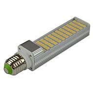 billige Bi-pin lamper med LED-E14 G23 E26/E27 LED-lamper med G-sokkel T 60 leds SMD 5050 Dekorativ Varm hvit Kjølig hvit 1200-1400lm 3000/6000K AC 85-265 AC 220-240 AC
