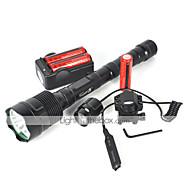 LED taskulamput LED 6000 lm 1 Tila Cree XM-L T6 Ajoneuvoihin sopiva Telttailu/Retkely/Luolailu Pyöräily Matkailu Monikäyttö Kiipeily