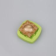 Myk silikon kake mold fondant dekorere smykker form såpe mugg farge tilfeldig