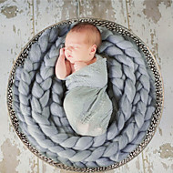 Newborn Prince Vintage Photography Prop Birthday Soft Blanket