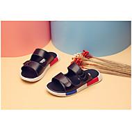 お買い得  男の子用靴-男の子 靴 化繊 夏 スリッパ&フリップ・フロップ ウォーキング のために カジュアル ホワイト ブラック