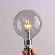 billige Globepærer med LED-1pc 3 W 300 lm E26 / E27 LED-globepærer G95 3 LED perler SMD 3528 Dekorativ Varm hvit / Kjølig hvit 220-240 V / 1 stk. / RoHs