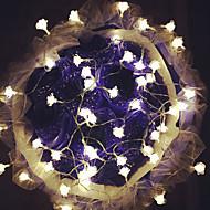 100 levaram-rosas 10m luz plugue ao ar livre do feriado do natal decoração da luz à prova de água levou luz da corda