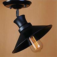 billige Taklamper-Takplafond Nedlys - Mini Stil LED designere, Rustikk / Hytte Vintage Land Retro Rød, 110-120V 220-240V Pære ikke Inkludert