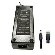 xinyuanyang® 12v 120W 10a 3round-pini ac de alimentare adaptor 5.5 x 2.1mm dc pentru benzi de lumină a condus - negru (100 ~ 240 V)