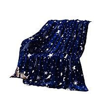bedtoppings cobertor de flanela coral fleece rainha tamanho 200x230cm gravuras Dark Star 210gsm