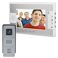 billige Dørtelefonssystem med video-700 TV Line 92 CMOS Doorbell System Tilkoblet Multifamily video ringeklokke