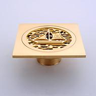 Lefolyócső Fürdőszobai kütyü / Antik réz Rozsdamentes acél /Antik
