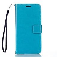 billiga Mobil cases & Skärmskydd-fodral Till Xiaomi Mi-fodral Korthållare Plånbok med stativ Fodral Enfärgad Hårt PU läder för Xiaomi Redmi Note 3
