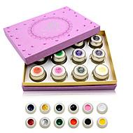 Lak za nokte UV gel 8g 1piece gel Slikarstvo UV gel u boji Klasik Soak off dugotrajnim Dnevno gel Slikarstvo UV gel u boji Klasik Visoka