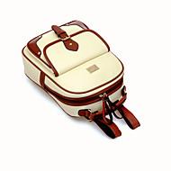 billige Skoletasker-Dame Tasker polyester / PU Skoletaske for udendørs Beige / Brun / Kakifarvet