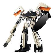 ieftine Roboți, monștri și jucării spațiale-Robot Transformabil Novelty Plastic ABS MetalPistol Carnaval An Nou Zuia Copiilor Fete Băieți Cadou